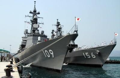 日本の護衛艦、カムライン湾に寄港 - ảnh 1