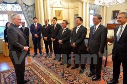 ティラーソン国務長官:アメリカはASEANとの戦略的パートナー関係を重視  - ảnh 1
