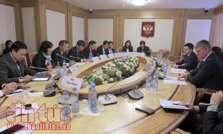 国会対外委員会代表団、ロシアを訪問 - ảnh 1