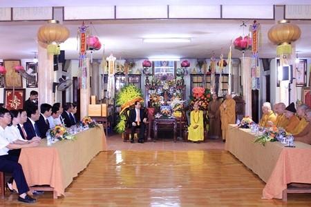 クアン国家主席、仏教行事で祝辞 - ảnh 1