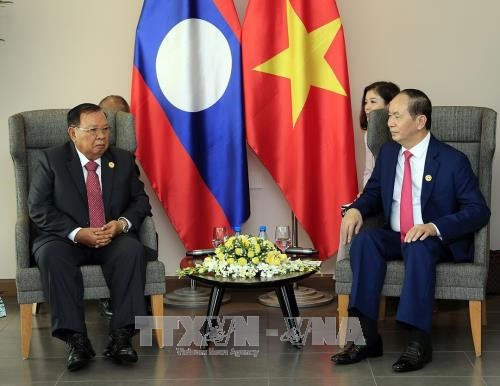 クアン主席、ラオス、カンボジア、韓国の指導者と個別会見 - ảnh 1