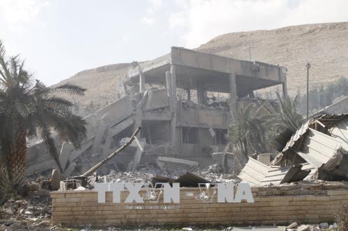 OPCW調査団、現地で試料採取 シリア化学兵器使用疑惑 - ảnh 1
