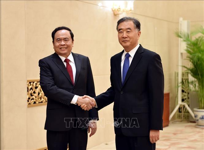 ベトナム祖国戦線と中国政協との協力強化   - ảnh 1