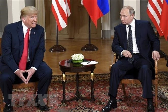 米大統領と来月のG20首脳会議で会談の可能性=プーチン氏 - ảnh 1