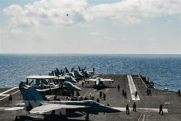 イラン 艦艇が米海軍の船に接近 「米が挑発」と反論の声明 - ảnh 1