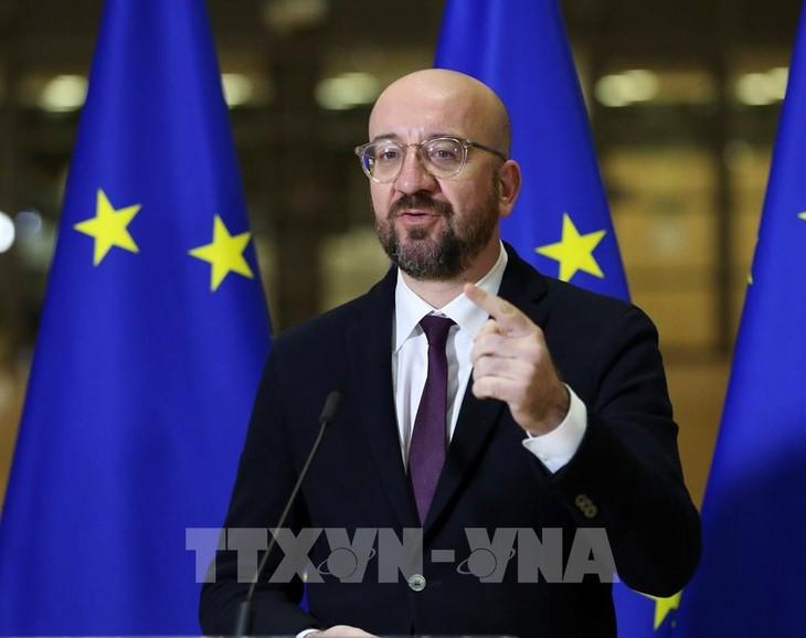 EU首脳会議、コロナ終息後の経済対策で決定先送りへ=関係筋 - ảnh 1