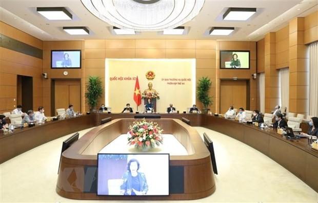 国会常務委第45回会議、年初4ヶ月の経済状況を評価 - ảnh 1