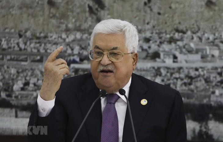 パレスチナ、米国およびイスラエルとのすべての協定を終了 - ảnh 1