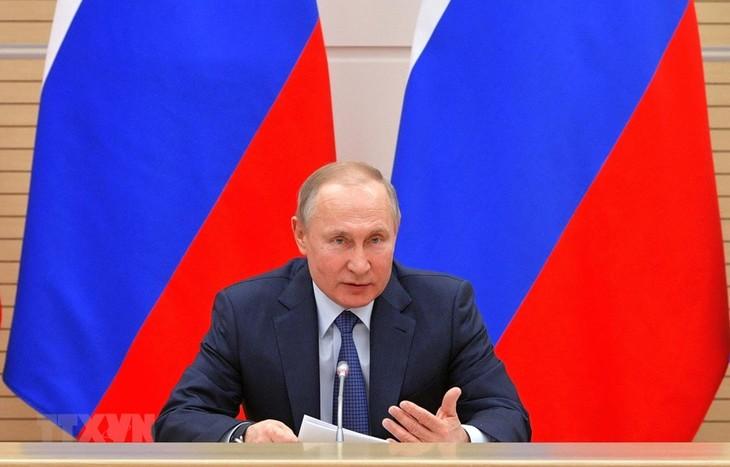 ロシア改憲案、7月1日に国民投票 2036年までプーチン氏続投も - ảnh 1