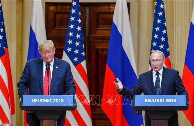 米ロ首脳が電話会談、G7サミット巡り協議=ロ大統領府 - ảnh 1