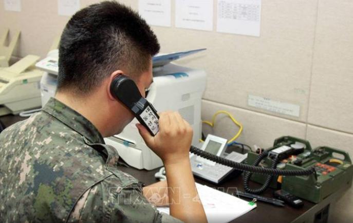 北韓 「9日正午から南北間の全ての通信連絡線を遮断」 - ảnh 1