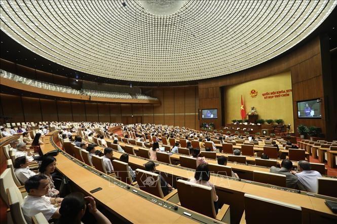 17日午後の国会、投資法改正案を採択 - ảnh 1