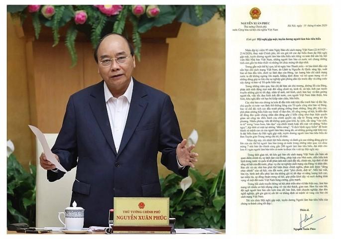ベトナム革命報道の日、報道関係者を顕彰する機会=フック首相 - ảnh 1