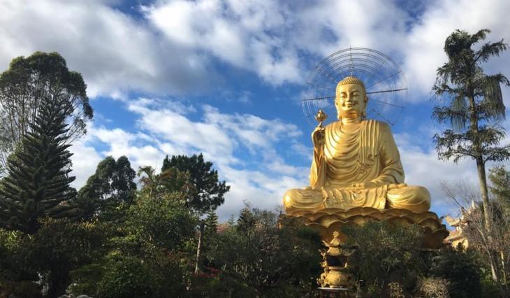 ダラット市にあるバンハイン寺の訪れ  - ảnh 2