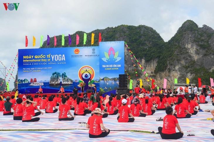 ベトナムとインドの文化交流の深化に寄与するヨガ  - ảnh 2