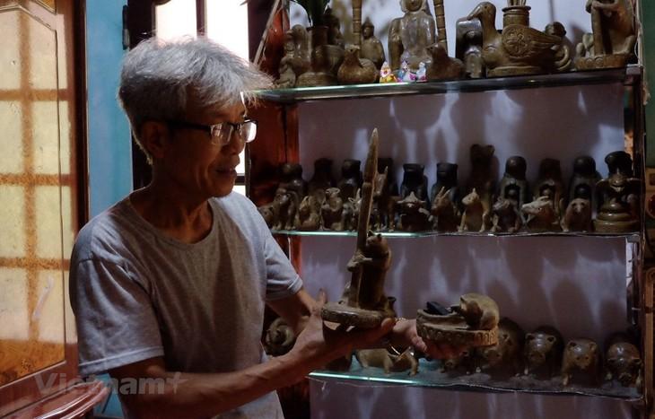 土でできた像の伝統的職業の維持、保存 - ảnh 2