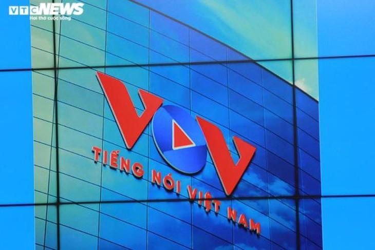 VOVの新しいロゴマークを公表 - ảnh 1