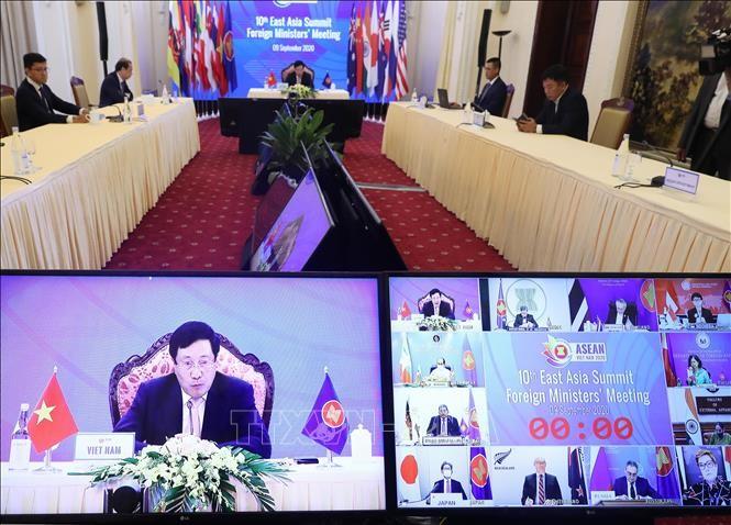 東アジア首脳会合:15年間の成果を評価 - ảnh 1