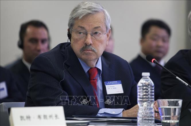 米国の駐中国大使退任へ 両国関係悪化受け - ảnh 1