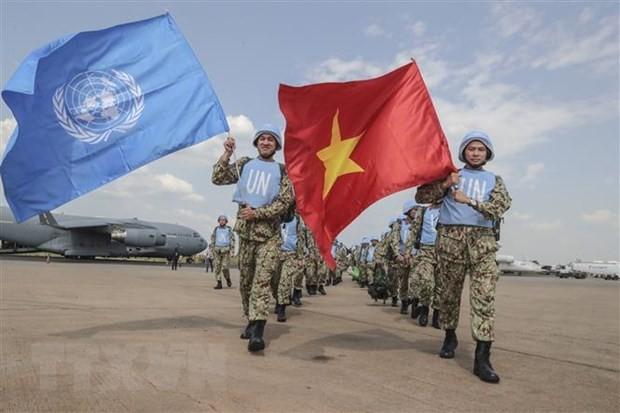 ベトナム、 平和維持活動に参加 - ảnh 1