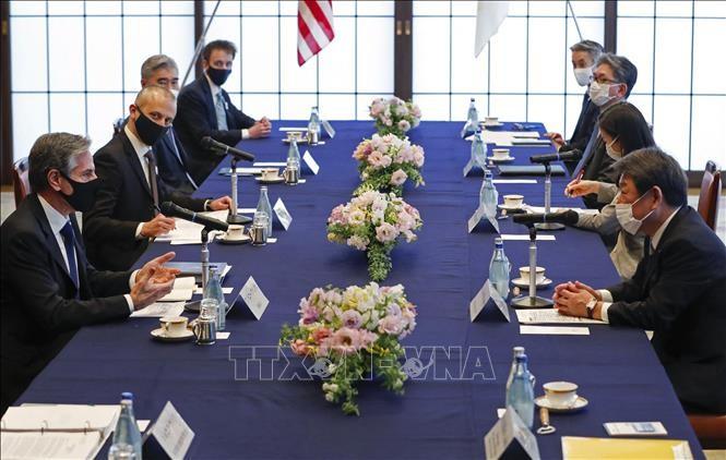 日米 外務防衛 閣僚協議で成果 来月の首脳会談へ調整本格化 - ảnh 1