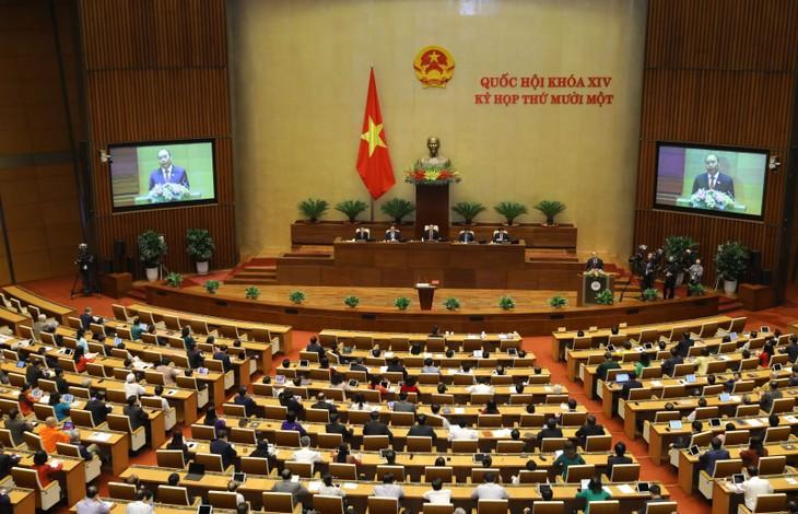 国会、国家副主席などの解任を決定 - ảnh 1