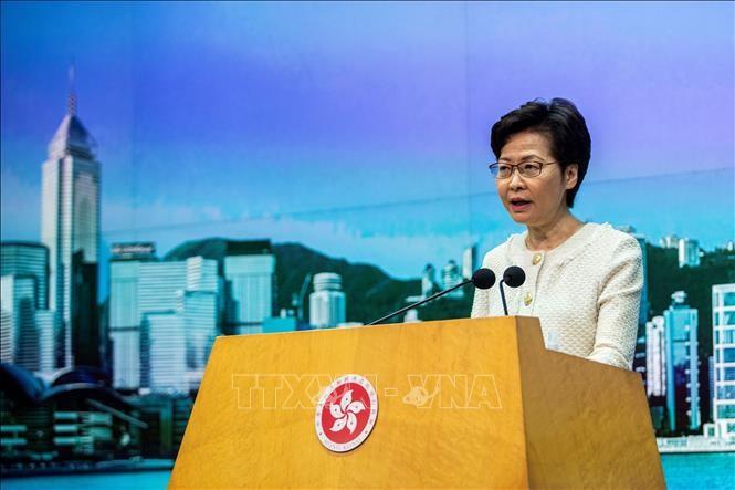 香港政府 選挙の白票呼びかけ行為に刑事罰科す方針 - ảnh 1