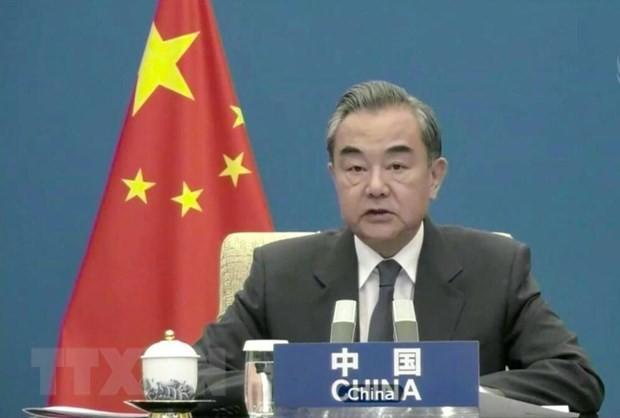 ミャンマー情勢、ASEAN首脳会議で改善期待=中国外相 - ảnh 1