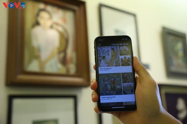 ベトナム美術博物館を紹介するアプリ「iMuseum VFA」 - ảnh 4