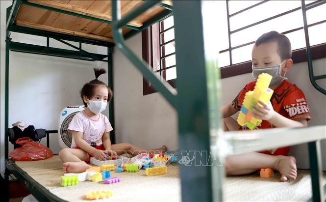 子どもたちを自然災害や疫病から守る - ảnh 1