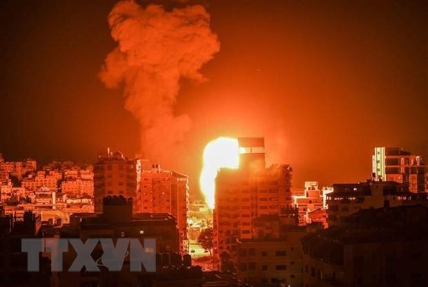 イスラエル軍がガザ地区を空爆 停戦以来初 - ảnh 1
