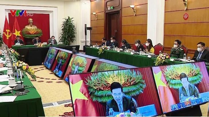 トゥオン書記局常務、ロシア・ASEAN政党のオンライン円卓会議に出席 - ảnh 1