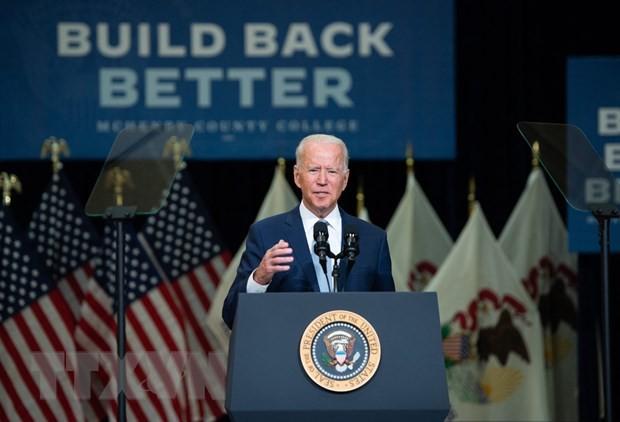 米大統領、法人増税のインフラ財源化訴え イリノイ州で演説 - ảnh 1