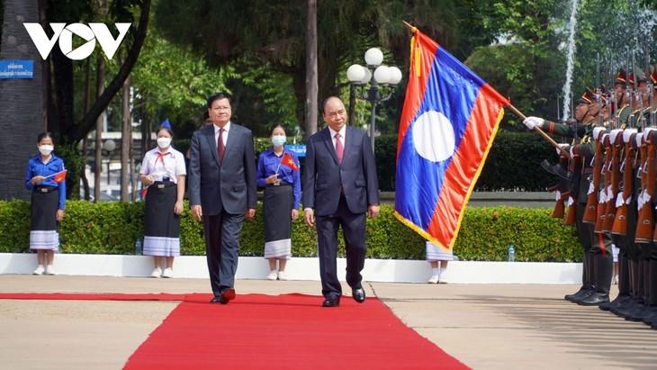 ベトナム・ラオスの友好関係を培う - ảnh 1