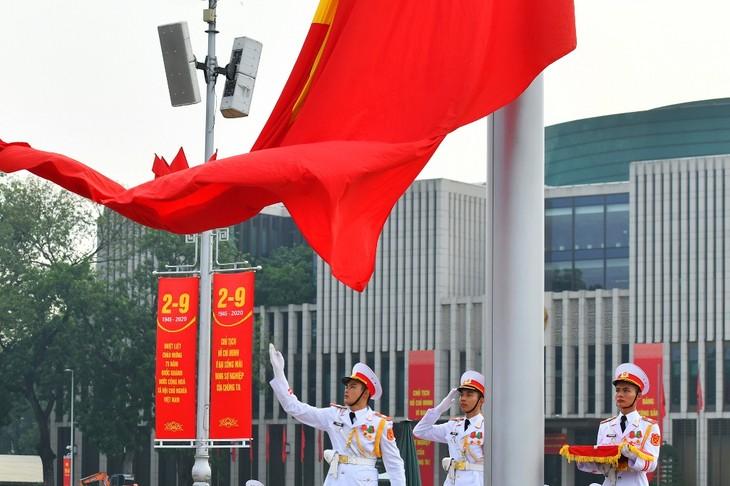 ベトナム民主共和国の誕生を記すバーディン広場 - ảnh 3