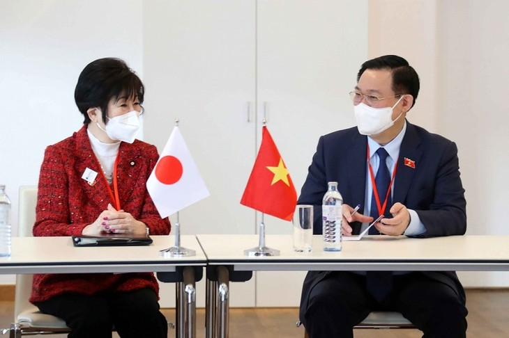 フエ国会議長、日本参議院議長と会見 - ảnh 1