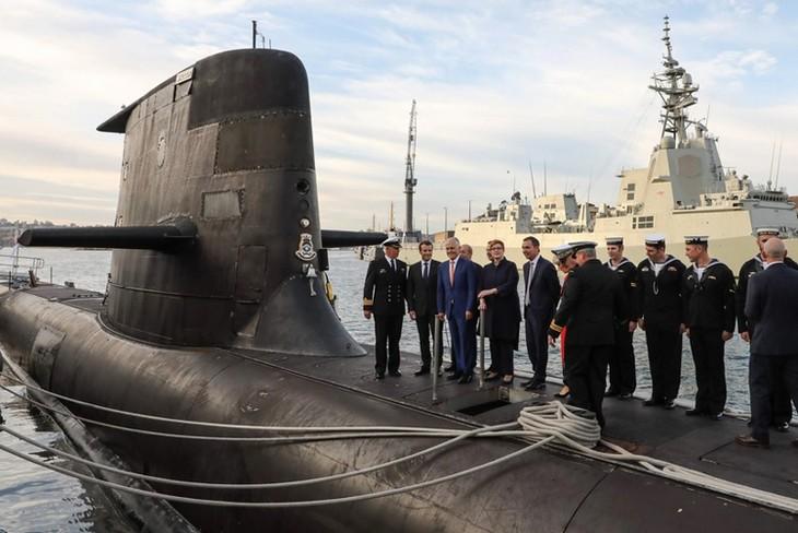 仏「重大な危機」と米豪に警告 潜水艦計画、NATO影響も明言 - ảnh 1