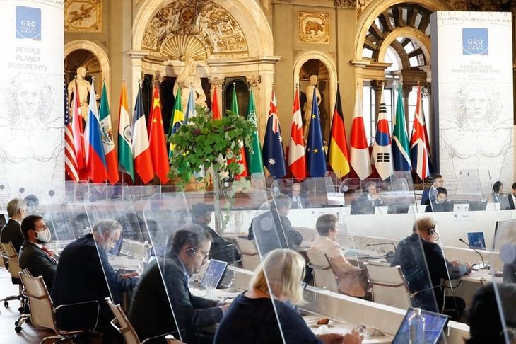 気候変動対応で合意 食料安全保障を確保―G20農相会合 - ảnh 1