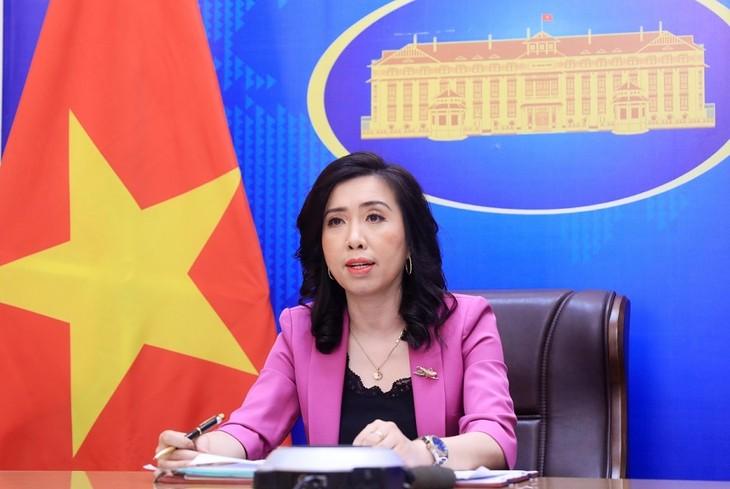 外務省 中国にチュオンサ群島での違法活動の中止を求める - ảnh 1