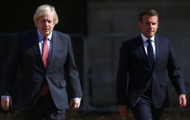 英仏首脳が会談 豪潜水艦開発計画破棄めぐり緊密連携で一致 - ảnh 1