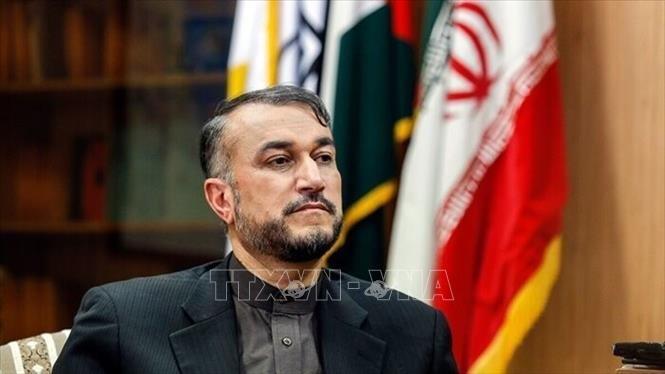 イラン核合意の再建協議、「非常に近いうちに」再開=イラン外相 - ảnh 1