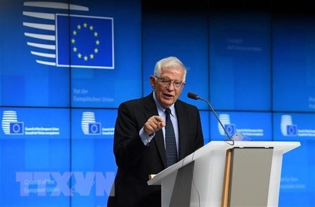 タリバン政権幹部の行動、今のところ心強いものでない=EU外相 - ảnh 1