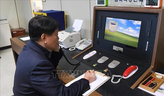南北通信ライン復旧 金総書記「朝鮮半島の平和を」 - ảnh 1