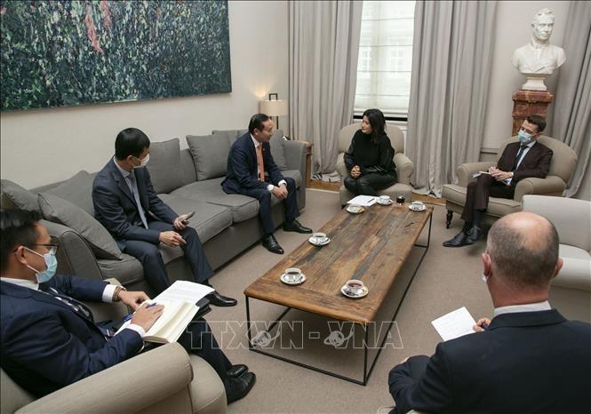 ベルギー上院議長、ベトナムとの関係を評価 - ảnh 1