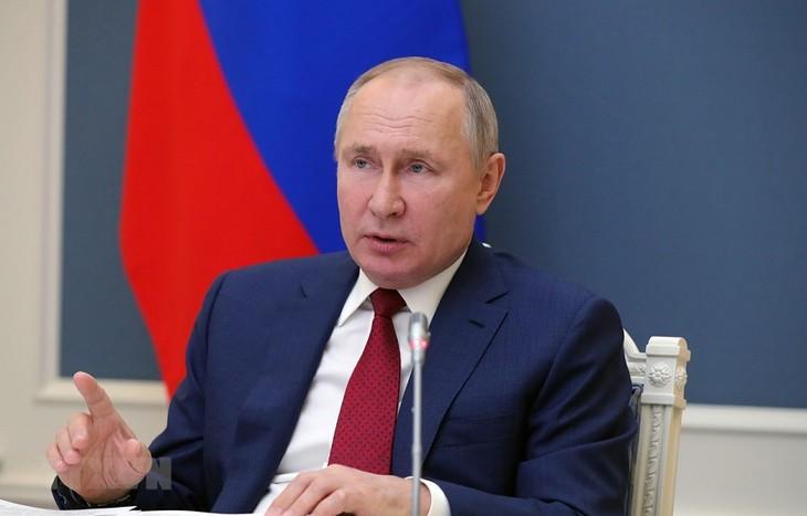 ロシア、2060年までに炭素排出実質ゼロへ プーチン氏表明 - ảnh 1