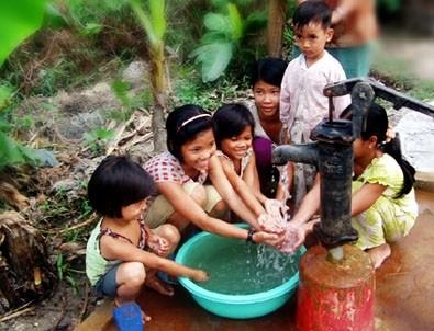 Air bersih dan target pembangunan pedesaan baru. - ảnh 1