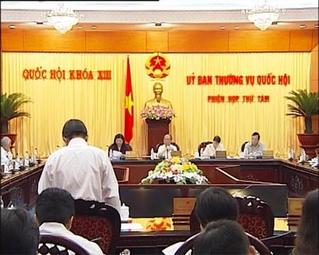 越南13届国会常委会8次会议公报 - ảnh 1