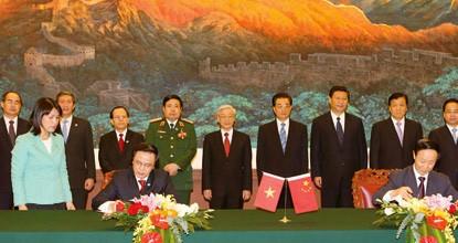 越南与中国启动海上低敏感领域合作专家工作组第一轮磋商 - ảnh 1
