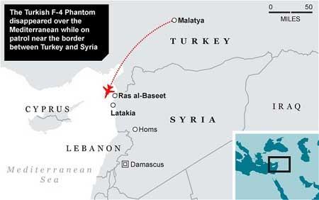 北约就叙利亚击落土耳其战机召开紧急会议 - ảnh 1