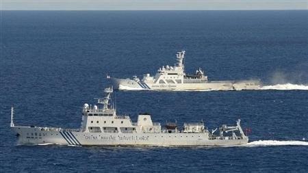 中国船只在中日争议海域巡逻 - ảnh 1